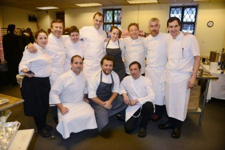 Dream Team of Chefs ( Photo by Andre Cypriano)