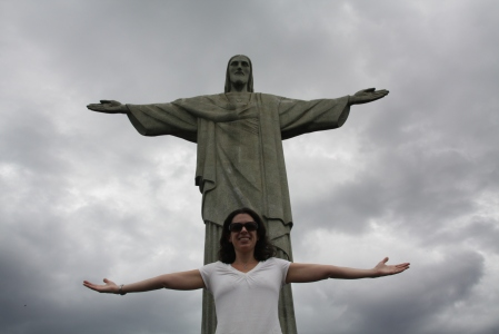 A visit with Christ the Redeemer brings a lot of hope!